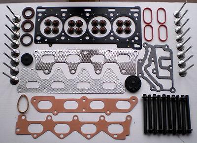 ensemble boulons joint de culasse 16 valves m gane sc nic laguna clio 1 8 2 0 ebay. Black Bedroom Furniture Sets. Home Design Ideas